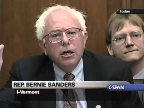 Bernie Sanders Blasts Alan Greenspan – Greatest Bern (7/15/2003)