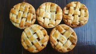 Яблочные МИНИ-ПИРОГИ🍎простой рецепт🍎 Apple mini pies
