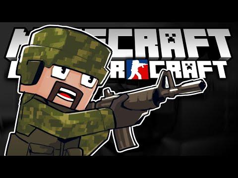 BEST GUN MOD! - Minecraft - Counter Craft (Minecraft Gun Mod)