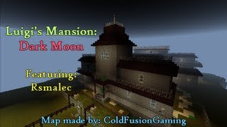 Let's Play Luigi's Mansion: Dark Moon Replica Map (with Rsmalec) - Part 1 of 6