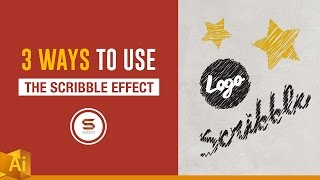 3 COOL USES OF THE SCRIBBLE EFFECT IN ADOBE ILLUSTRATOR - 𝓈𝒸𝓇𝒾𝒷𝒷𝓁𝑒