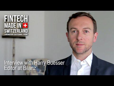 """FinTech Made in Switzerland"": Interview Harry Büsser, Bilanz"