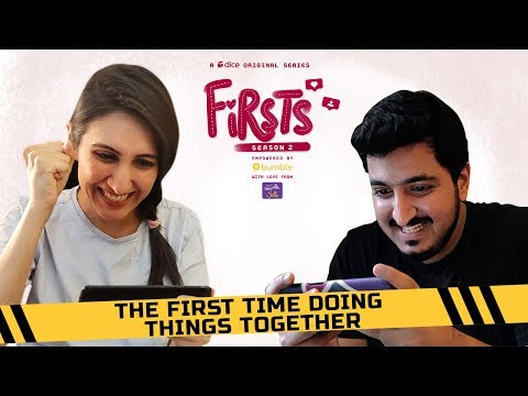 Dice Media | Firsts S2 | Web Series | Part 3 | The First Time Doing Things Together In Lockdown
