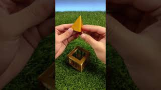 3D Printed Pyramid in a Cage Puzzle #Shorts