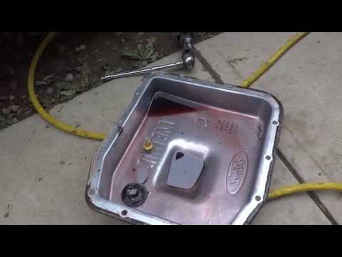 F150 Transmission Oil Filter DIY - YouTube
