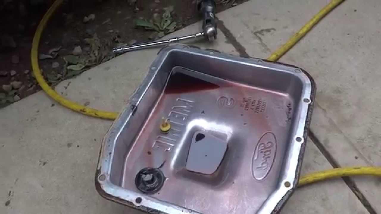 F150 Transmission Oil Filter DIY  YouTube