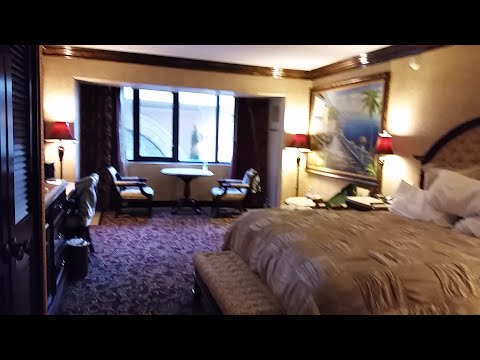 Peppermill Reno Review hotel tour Tuscany suite  Reno NV 1 king room