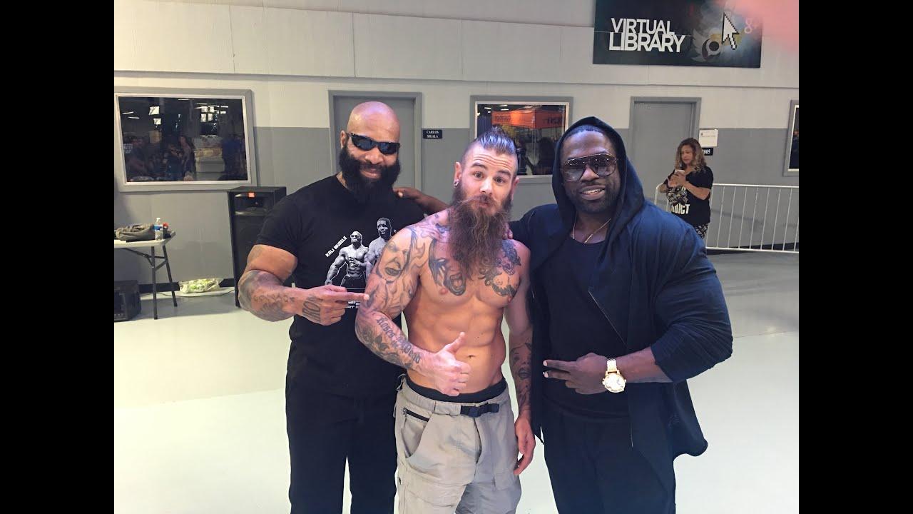 BIG ARMS IN TEXAS - Kali Muscle + CT Fletcher + Derek