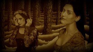 """Drawing: Mahafsoun, """"The Princess of the Darkness"""""""