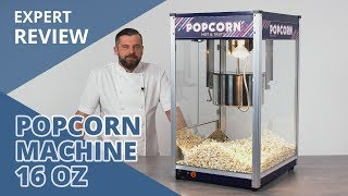 Popcorn Machine - 16 oz