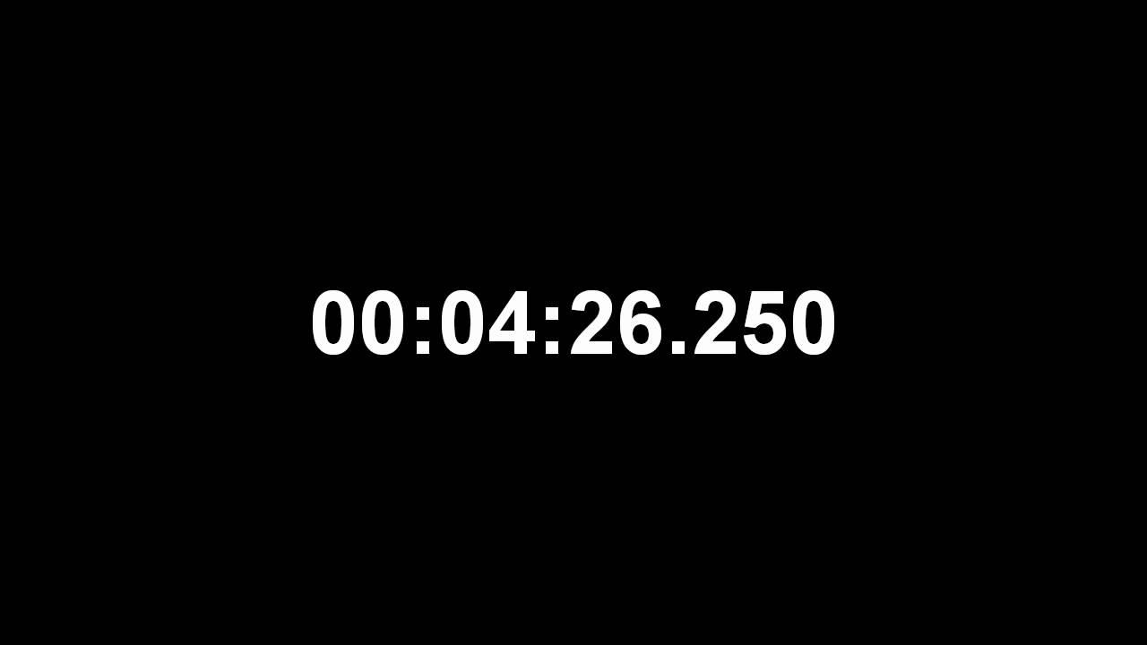 ten minutes countdown