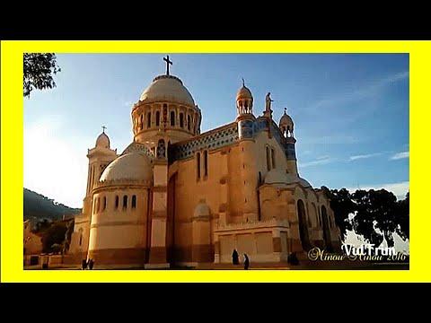 Somptueuse basilique Notre-Dame d'Afrique (Alger) HD