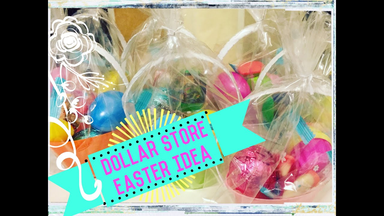 Mini easter baskets 99 cent store easter idea easter treats and mini easter baskets 99 cent store easter idea easter treats and goody bags youtube negle Image collections