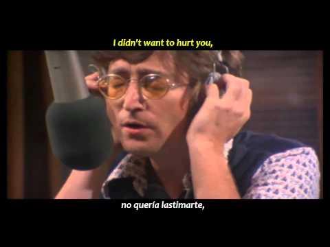 John Lennon - Jealous Guy (inglés Y Español)