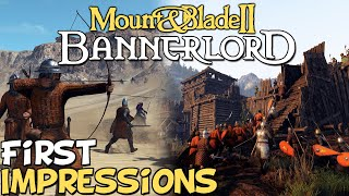 "Mount & Blade 2: Bannerlord First Impressions ""Is It Worth Playing?"""