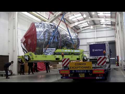 Rolls-Royce | The First Trent XWB Engine Delivery