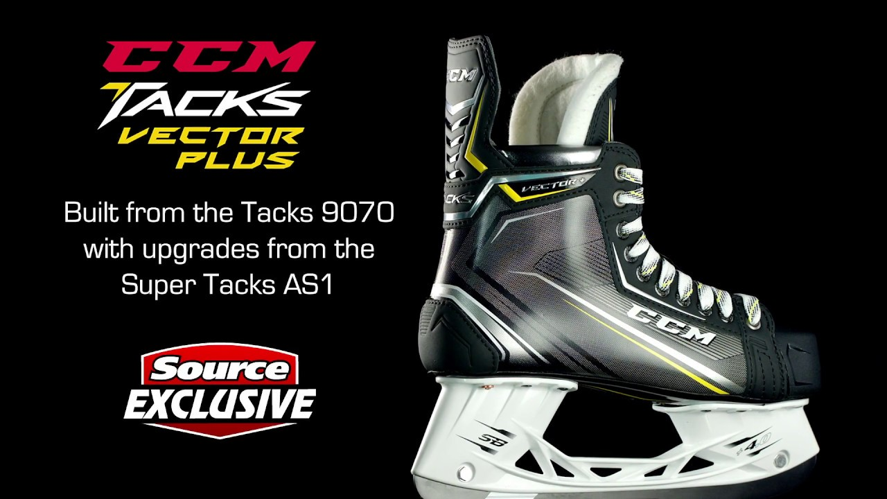2eecb9cfd7d Source Exclusive  CCM Tacks Vector Plus Hockey Skates (2018 ...