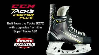 Source Exclusive: CCM Tacks Vector Plus Hockey Skates (2018) | Source For Sports