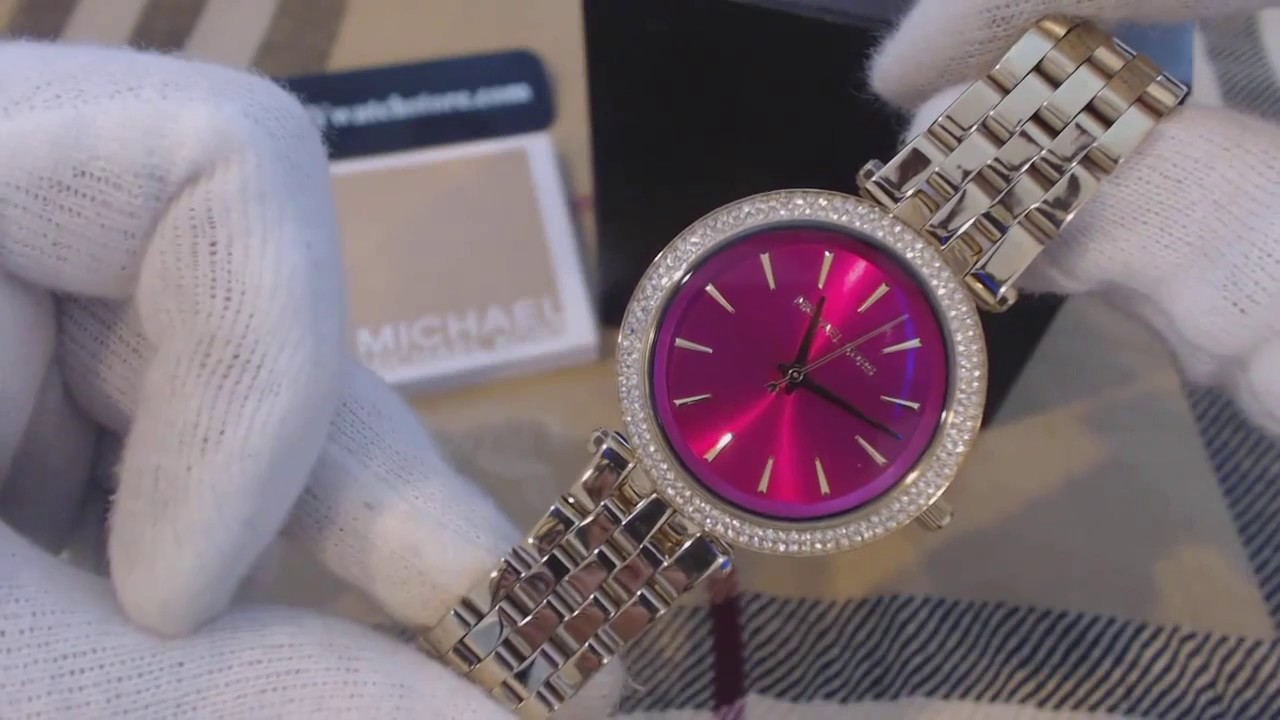 aaa31d951c28 Women s Michael Kors Mini Darci Crystallized Glitz Watch MK3444 ...