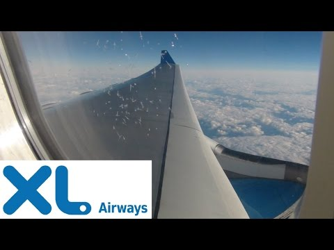 [HD] Heavy Turbulence over Atlantic Ocean ✈️
