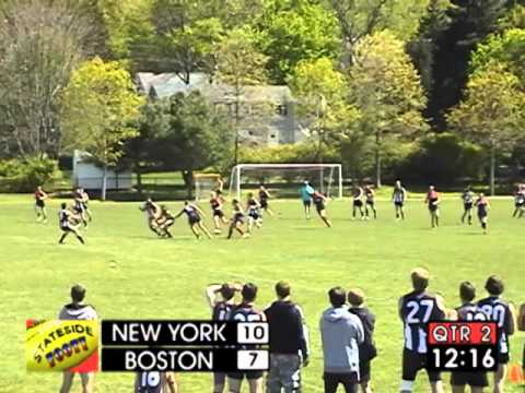 Stateside Footy - Episode 12-02: NY Magpies vs Boston Demons
