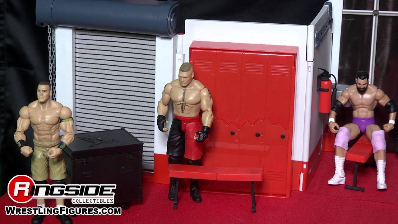 Wwe Figure Insider Wwe Backstage Brawl Playset By Mattel