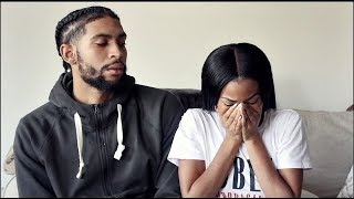 STD PRANK ON BAE  I SLEPT WITH ANOTHER MAN ! HE GETS SO MAD!