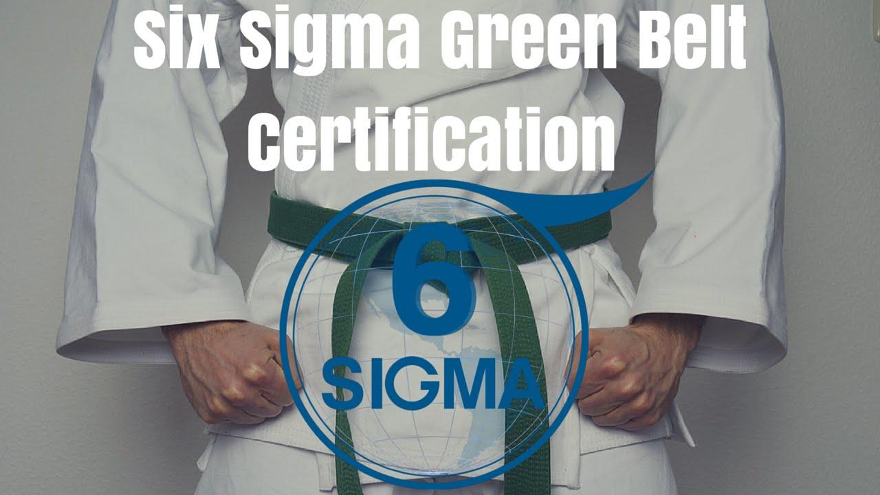 Six Sigma Certification Houston Texas Six Sigma Green Belt Lean