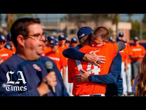 Orange Coast College honors late baseball coach John Altobelli and his family