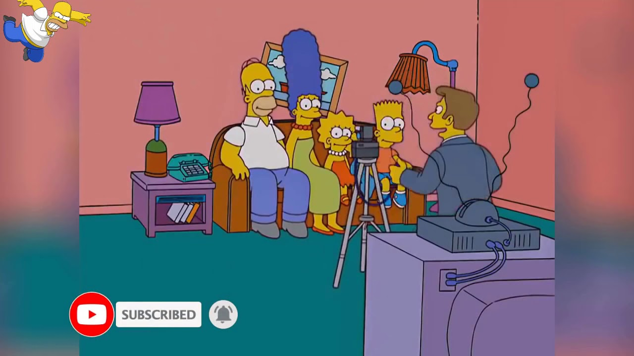 Simpsons Couch Gags Season 18 19 Funny