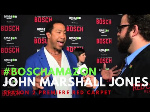 "John Marshall Jones at the ""Bosch"" Season 2 Premiere from Amazon #BoschAmazon"