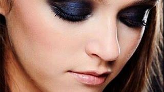 ❀♡Яркий вечерний макияж/Макияж смоки айс❀♡