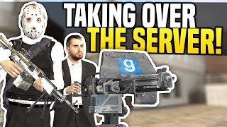 TAKING OVER THE SERVER - Gmod DarkRP | Becoming Millionaires!
