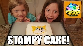 Make a Stampy Cake for Wonder Quest Season 2