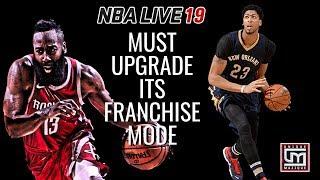 nba live franchise mode