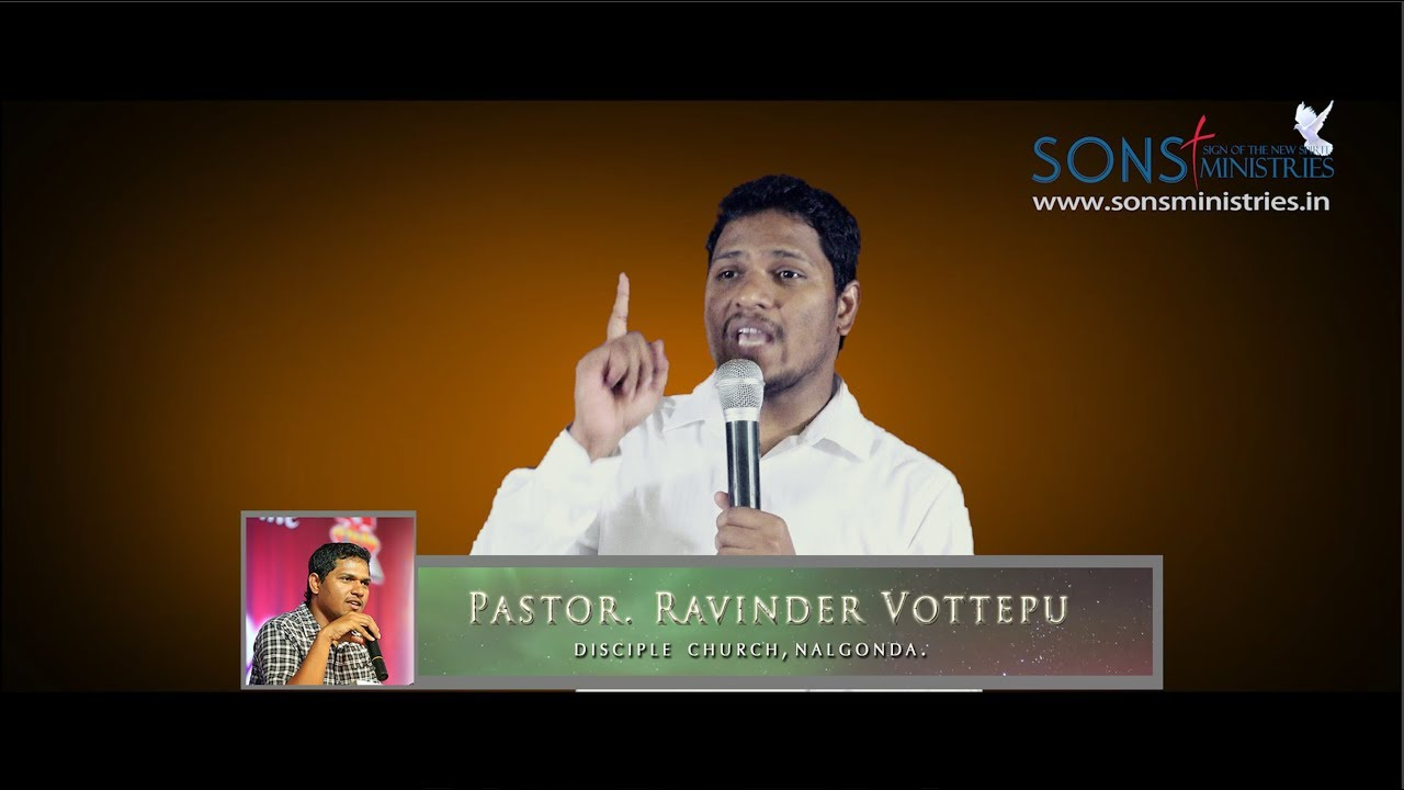 Whom are you fellowshipping with? Message by Pastor. Ravinder Vottepu