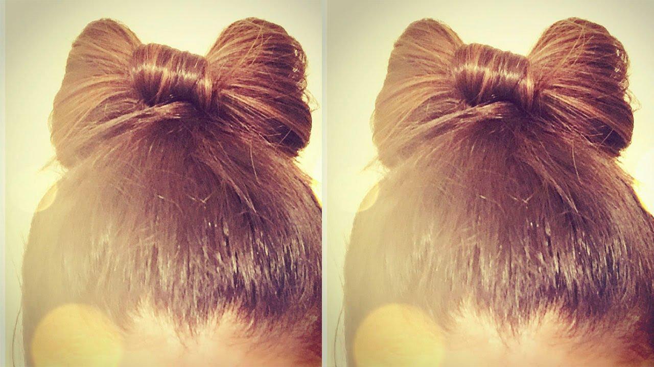 Como peinarse el cabello largo r pido y bonito peinado - Peinados faciles y rapidos paso a paso ...