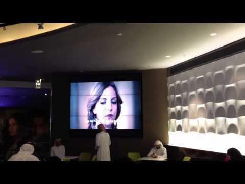 Trailer screening in Vox Cinema Cafe - Abu Dhabi