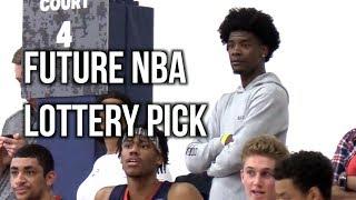 FUTURE NBA LOTTERY PICK Josh Jackson Watches Old AAU Team!! 1 Nation Vs. Atlanta Express