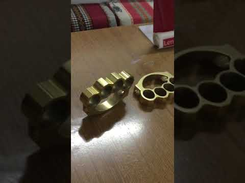 Real Brass Knuckle