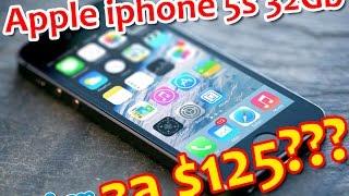 Покупка iphone 5s 32gb за $125(, 2017-04-26T12:03:52.000Z)