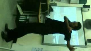 Jordan dancin in lesson xx