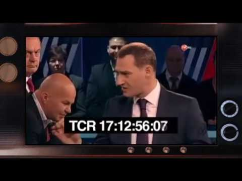 Драки и хамство чем сегодня живут политические ток-шоу в России  Гражданская оборона, 20.12.16