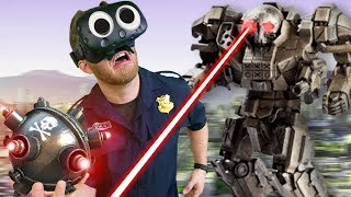 GIANT COP VS GIANT ROBOT   Giant Cop: Justice Above All
