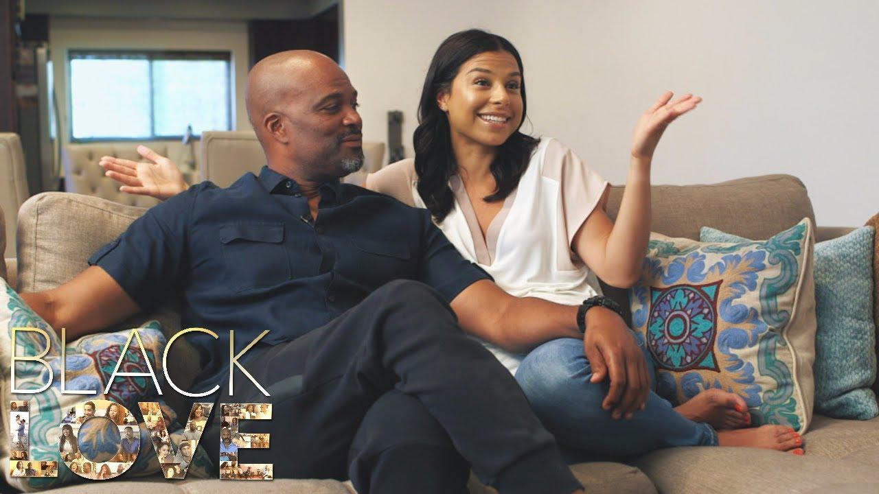 黒い愛のカップル