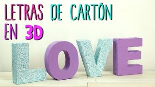 letras para decorar tu cuarto videos, letras para decorar tu cuarto ...