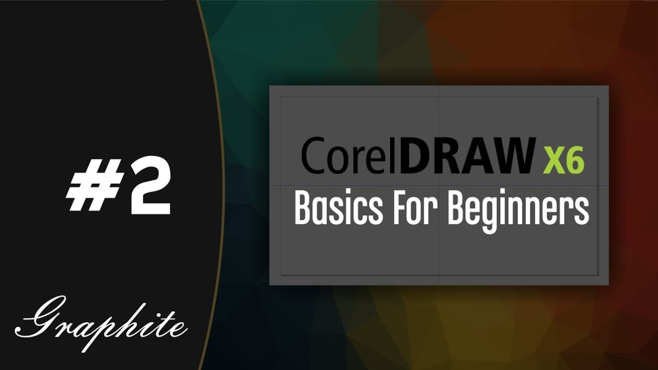 how to zoom inout centre an image and create guides corel draw x6 tutorials