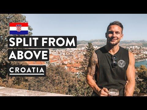 BEST VIEWS IN SPLIT | Trogir to Split Ferry | Croatia Travel Vlog