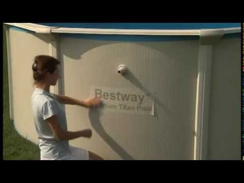 Piscinas desmontables bestway c mo montar una piscina de for Piscines demontables