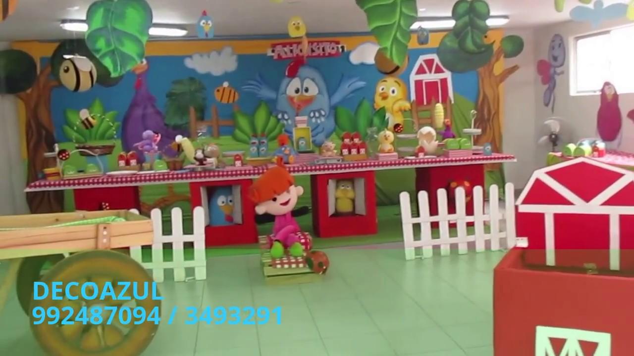 Gallinita Pintadita Decoracion De Fiestas Infantiles 3493291